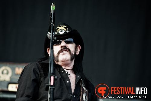 Motörhead op Graspop 2010 foto