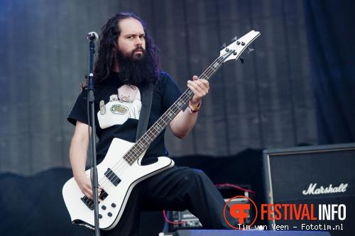 Evergrey op Graspop 2010 foto