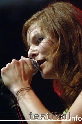 Juli op Huntenpop 2005 foto