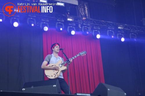 Foto Vampire Weekend op Rock Werchter 2010