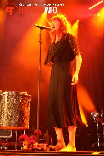 Foto Florence + The Machine op Rock Werchter 2010