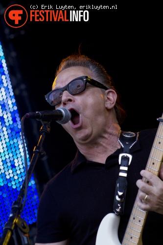 Jimmy Vaughan op Bospop 2010 foto