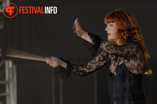 Florence + The Machine op Roskilde 2010 foto