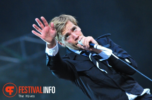 The Hives op Sziget 2010 foto