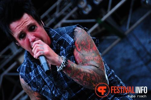 Papa Roach op Sziget 2010 foto