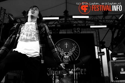 Throats op Sonisphere UK 2010 foto