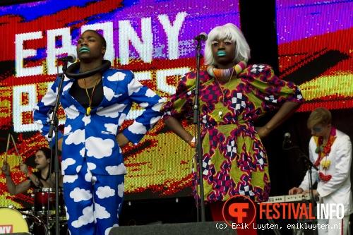 Ebony Bones op Solar Weekend 2010 foto