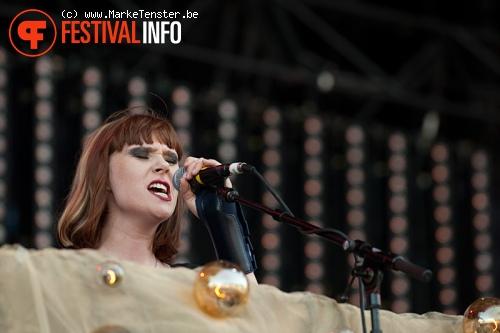Kate Nash op Pukkelpop 2010 foto