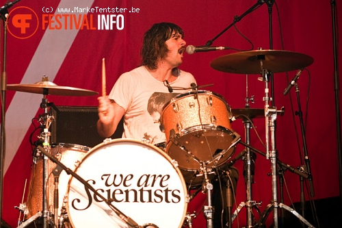 We Are Scientists op Pukkelpop 2010 foto