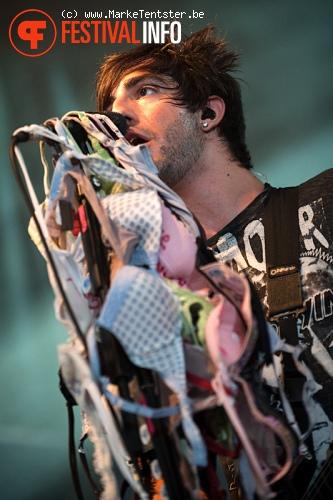 All Time Low op Pukkelpop 2010 foto