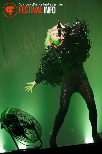 Goldfrapp op Pukkelpop 2010 foto