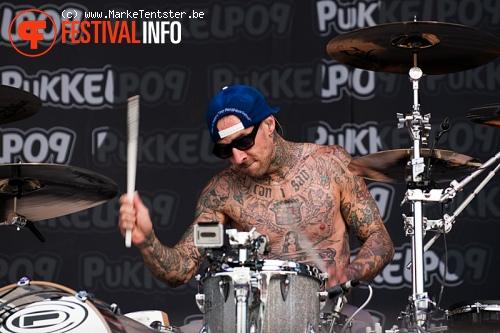 Blink-182 op Pukkelpop 2010 foto
