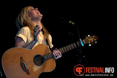 Ellie Goulding op Pukkelpop 2010 foto