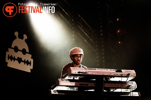 Foto Burning Spear op Lowlands 2010