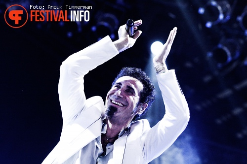 Foto Serj Tankian op Lowlands 2010