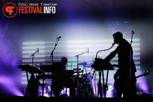 Foto Massive Attack op Lowlands 2010