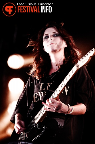 Blood Red Shoes op Lowlands 2010 foto