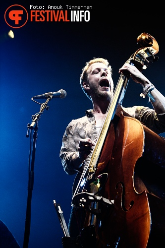 Mumford and Sons op Lowlands 2010 foto
