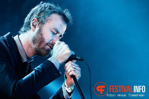 Foto The National op Lowlands 2010