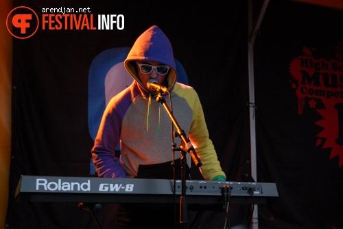 Foto Shiny Beats op Westerpop 2010