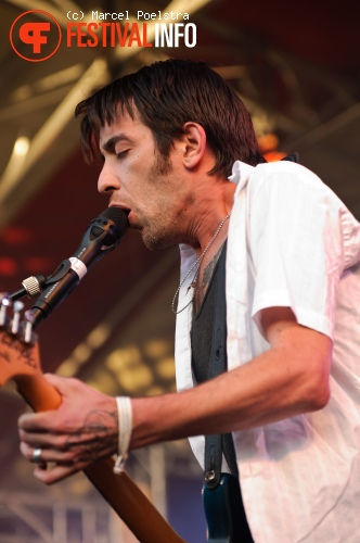 Wolf Parade op Into The Great Wide Open 2010 foto
