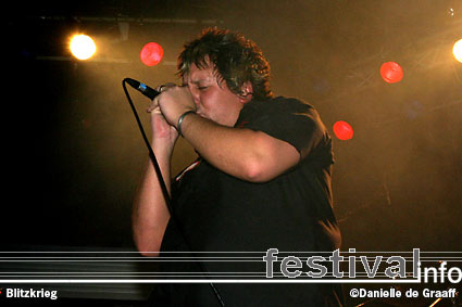 Blitzkrieg op Heavy Metal Maniacs 2005 foto