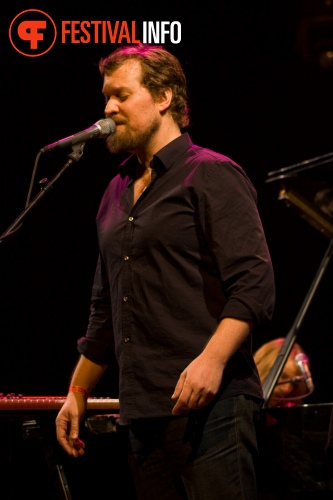 Foto John Grant op Crossing Border 2010