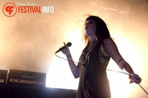 Sleigh Bells op Le Guess Who? 2010 foto