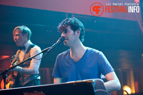 Foto Ruben Hein op Eurosonic Noorderslag 2011