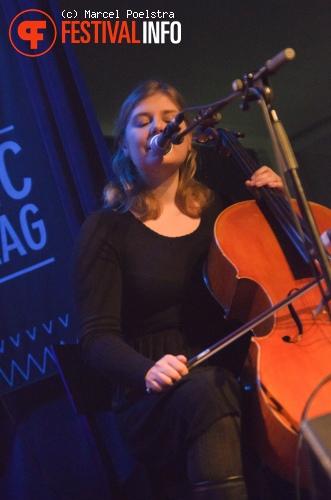 Foto Agnes Obel op Eurosonic Noorderslag 2011