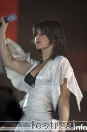 Foto Ellen ten Damme op Vrienden van Amstel 2006