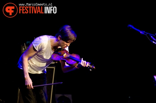 Owen Pallett op Cross-Linx Eindhoven 2011 foto