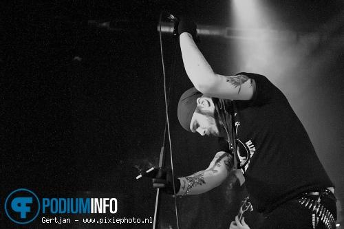 Shining (Zweden) op Watain & Shining - 13/3 - De Kade foto