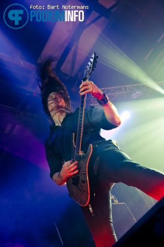 Megadeth op Slayer - 14/4 - Klokgebouw foto