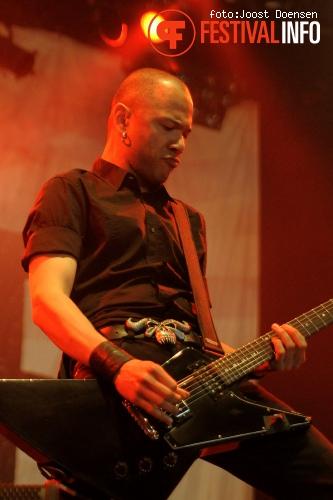 Foto Danko Jones op Groezrock 2011