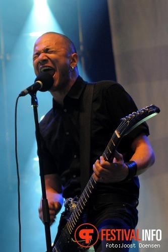 Danko Jones op Groezrock 2011 foto