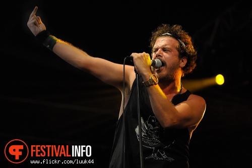 Foto Jack Parow op Bevrijdingsfestival Amsterdam 2011