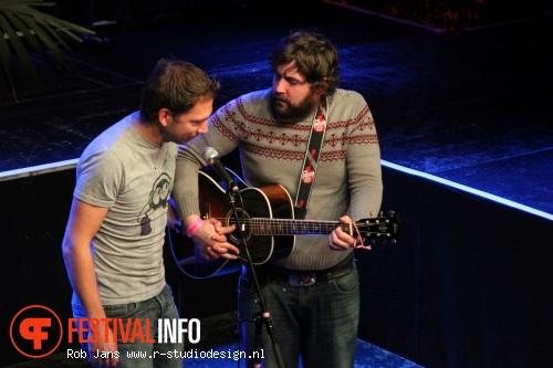 Foto Nick Helm op Amsterdam Comedy Festival 2011