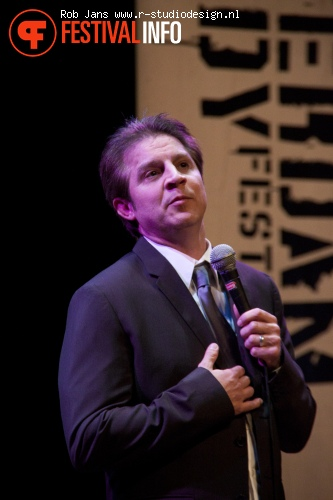 Foto Danny Bevins op Amsterdam Comedy Festival 2011