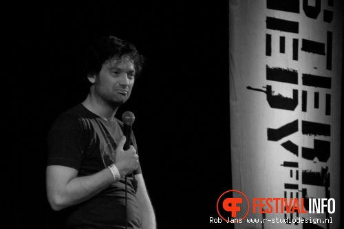 Foto Thomas Smith op Amsterdam Comedy Festival 2011