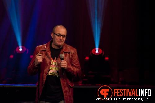 Foto Brendon Burns op Amsterdam Comedy Festival 2011