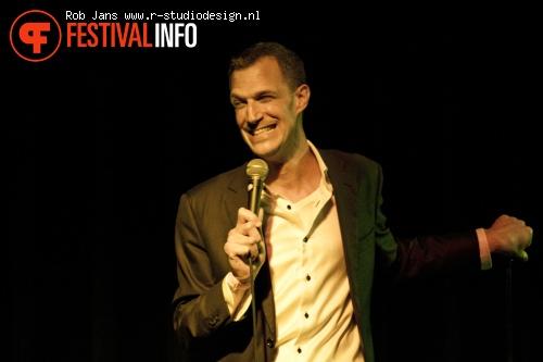 Foto Greg Shapiro op Amsterdam Comedy Festival 2011