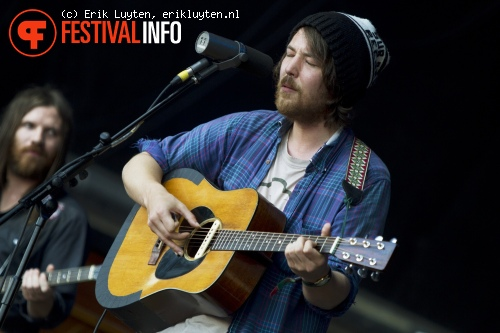 Foto Fleet Foxes op Primavera Sound 2011