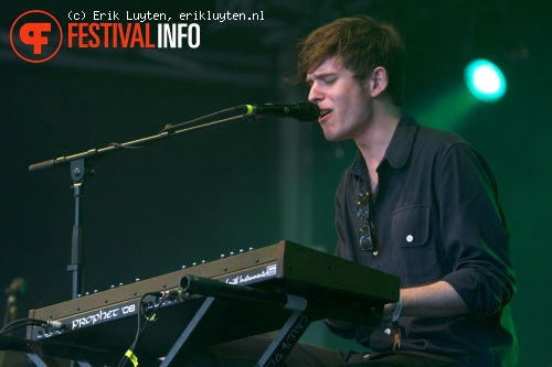 Foto James Blake op Primavera Sound 2011