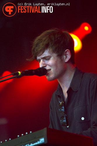 James Blake op Primavera Sound 2011 foto