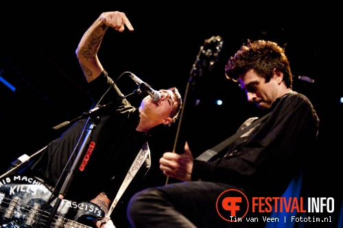 Anti-Flag op The Powerfest 2011 foto