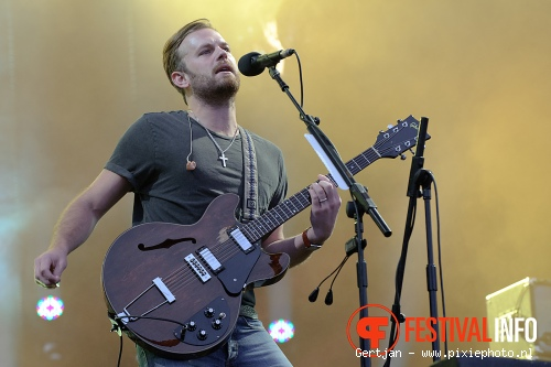 Kings of Leon op Pinkpop 2011 foto