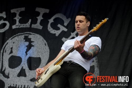 The Gaslight Anthem op Pinkpop 2011 foto