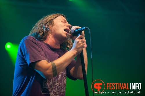 Cage the Elephant op Pinkpop 2011 foto