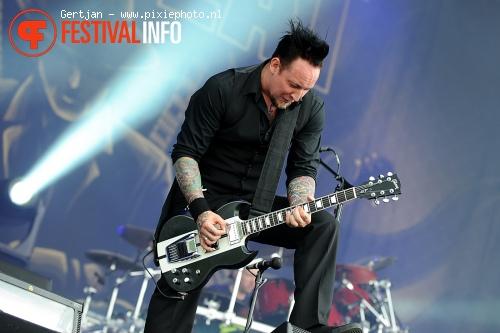 Volbeat op Pinkpop 2011 foto